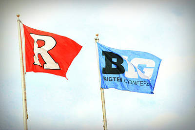 Photograph - Rutgers Is Now Big Ten Country by Allen Beatty