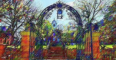 Rutgers University Art Print