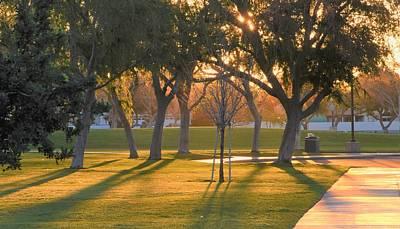 Photograph - Ruth Hardy Park At Sunrise by Lisa Dunn