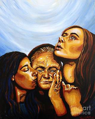 Painting - Ruth Naomi And Orpah by Veronica McDonald