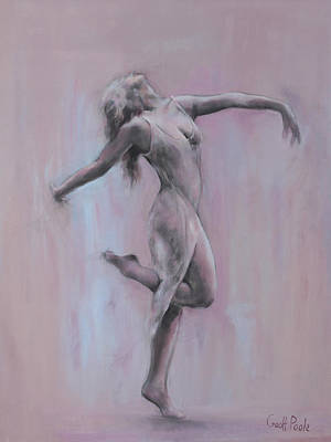 Martha Graham Painting - Ruth St Denis by Geoff Poole
