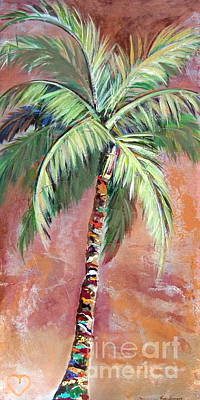 Painting - Ruths Palm I by Kristen Abrahamson