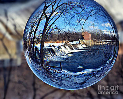Photograph - Rutland Dam Two by Kathy M Krause