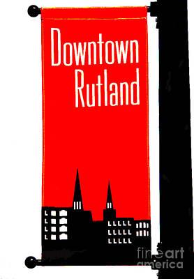 Rutland Photograph - Rutland by David Bearden