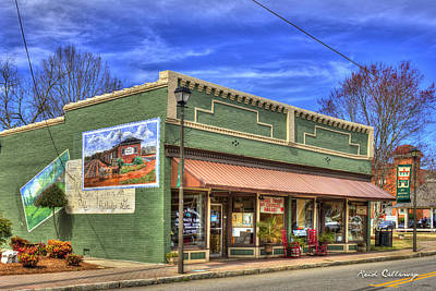 Photograph - Rutledge Rural Georgia Historic Rutledge Georgia by Reid Callaway