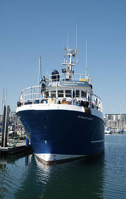 Photograph - Rv Plymouth Quest by Chris Day