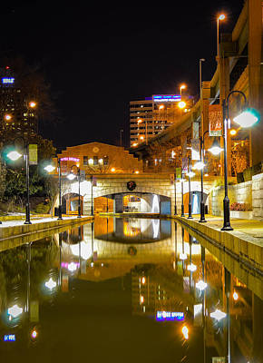 Photograph - Rva Canal Walk by Aaron Dishner