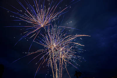 Photograph - Rva Fireworks by Doug Ash