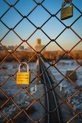 Photograph - Rva Lock Bridge by Aaron Dishner