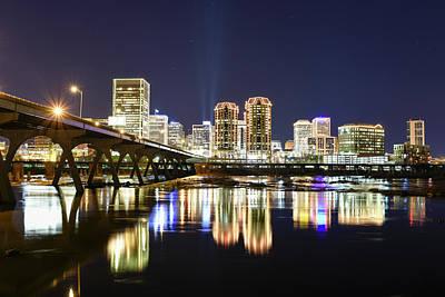 Photograph - Rva Night Lights by Doug Ash