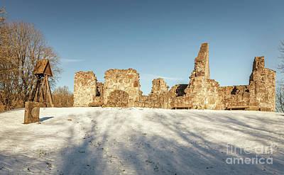 Photograph - Rya Chapel Ruin by Sophie McAulay