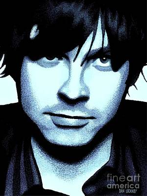 Music Digital Art - Ryan Adams by Dan Lockaby