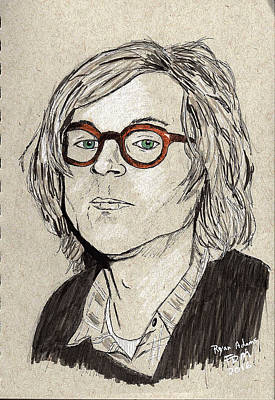 Painting - Ryan Adams by Frank Middleton