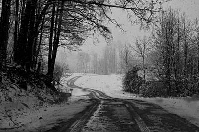 Photograph - Ryan Road In The Snow by Kathryn Meyer