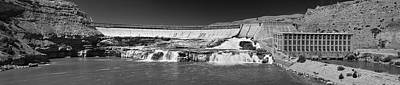 Photograph - Ryan Water Falls And Hydro Electric Generating Plant.  by Richard J Cassato
