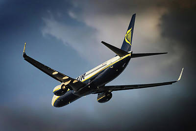 Madrid Photograph - Ryanair by Smart Aviation