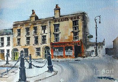 Painting - Ryans Bar, Portobello, Dublin by Val Byrne