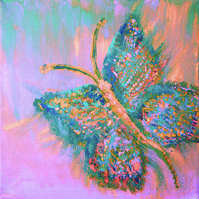 Painting - Ryans Butterfly by Colleen Ranney