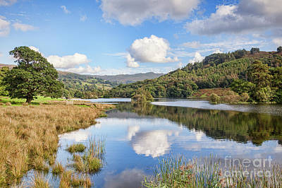 Rydal Water, English Lake District Art Print by Colin and Linda McKie