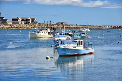 Photograph - Rye Harbor 2 by Tricia Marchlik