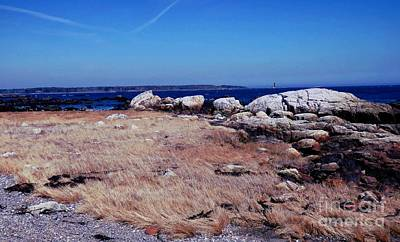 Photograph - Rye Nh Shoreline by Marcia Lee Jones