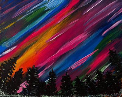 Rylees Aurora Art Print by Diann Blevins