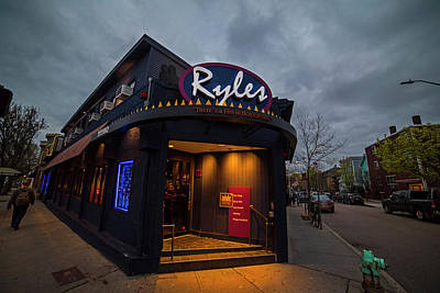 Photograph - Ryles Jazz Club Cambridge Ma Inman Square Hampshire Street by Toby McGuire