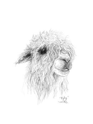 Drawing - Ryley by K Llamas