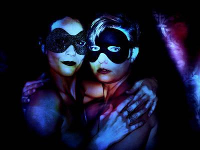Digital Art - Ryli And Corinne 4 by Mark Baranowski