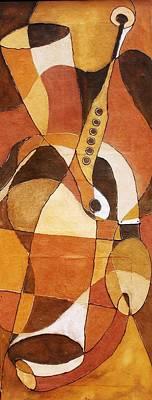 Painting - Rythm Of Unity by Bankole Abe