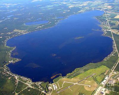 Photograph - S-034 Shawano Lake Shawano County Wisconsin by Bill Lang