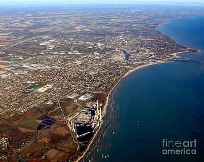 Photograph - S-053 Sheboygan Wisconsin Lakeshore To North by Bill Lang