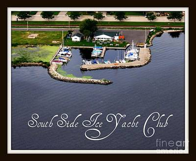 Photograph - S-058 South Side Ice Yacht Club Oshkosh Wisconsin by Bill Lang