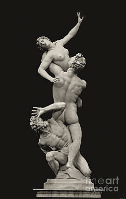 S 42 Rape Of The Sabine, Florence Art Print by Norberto Torriente