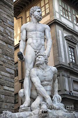 S 43 Hercules, Florence Art Print by Norberto Torriente