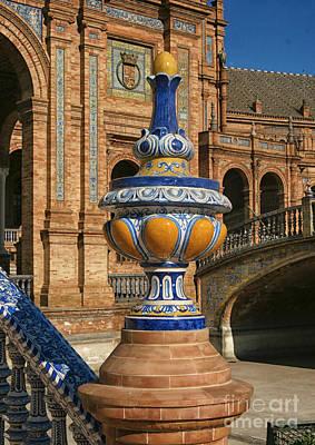 S 44 Alcazar, Seville, Spain  Art Print by Norberto Torriente
