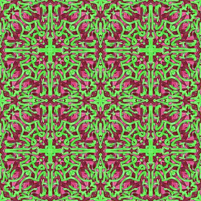 S A T - Multi Pattern Art Print