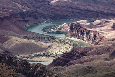 Photograph - S Curve In Grand Canyon  by John McGraw