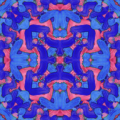 Digital Art - S E P -month- -pattern- by Coded Images