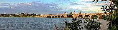 Photograph - S Hanover St Bridge - Pano by Brian Wallace