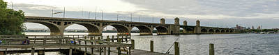 Photograph - S Hanover St Bridge - Panorama by Brian Wallace