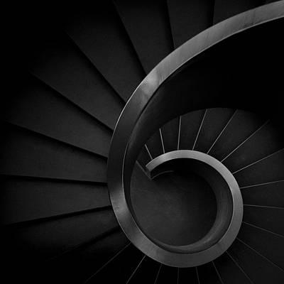 Stairs Photograph - S I X by Fernando Correia Da Silva