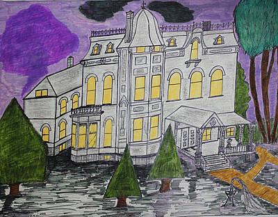 Lumberman Painting - S M Stephenson Home by Jonathon Hansen