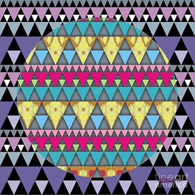 S-pyramids 1 Art Print by Walter Oliver Neal