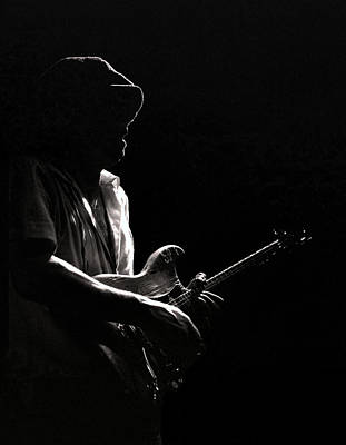 Stevie Ray Vaughan Photograph - S R V by Mike Norton