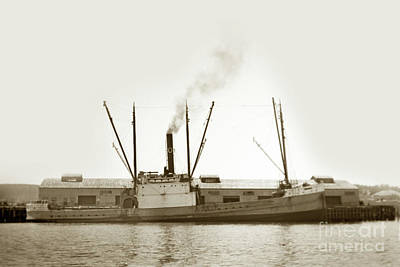 Photograph - S. S. Whitny Olson  by California Views Mr Pat Hathaway Archives