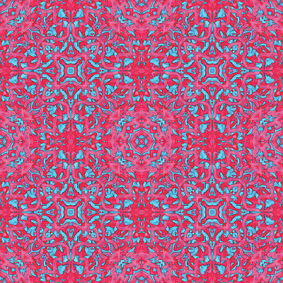 Digital Art - S U N -day- -multi-pattern- by Coded Images