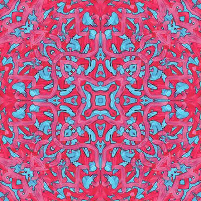 S U N - Pattern Art Print