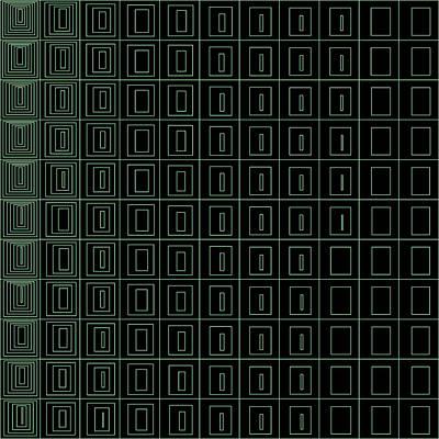 Black Background Digital Art - S.1.41 by Gareth Lewis