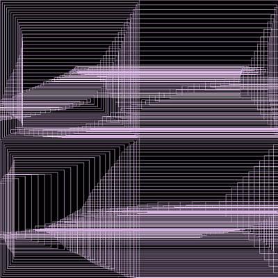Black Background Digital Art - S.2.6 by Gareth Lewis